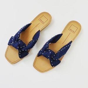 NWT Dolce Vita Denim Sandals